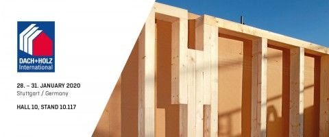 AGEPAN® SYSTEM at the DACH+HOLZ International 2020